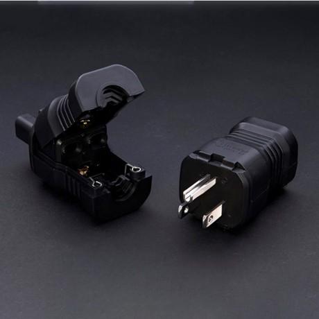 FI-15 (R) Plus IEC 플러그 (로듐도금) / FURUTECH / IEC 커넥터(로듐도금)