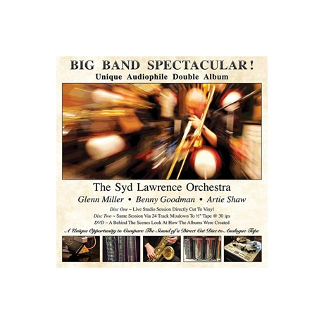 The Syd Lawrence Orchestra Big Band Spectacular 180g 2LP & DVD / D2D LP