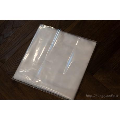 LP보호용 비닐 /  고급 PE 비닐 겉지, 정전기방지 처리된 비닐 속지 /  12인치용 보호비닐