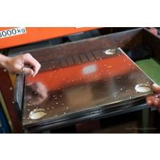 [공동제작] 1810,2530샷시 스텐레스스틸 바닥패널, SPEAK-ON 단자 업그레이드